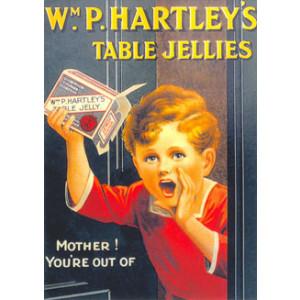Hartleys Table Jellies Nostalgic Postcard
