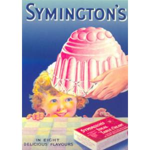 Symingtons Puddings Nostalgic Postcard