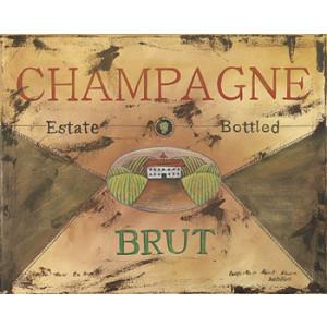 Champagne Brut 8 x 10 Kitchen Print