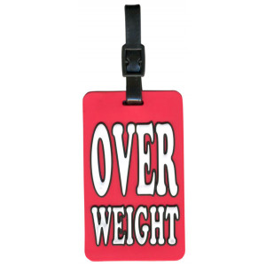Overweight Suitcase Bag Luggage Tag