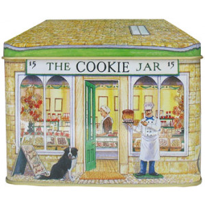 The Cookie Jar Bakery Shop Tin