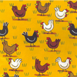 Free Range Eggs Chickens Rachael Flynn Card