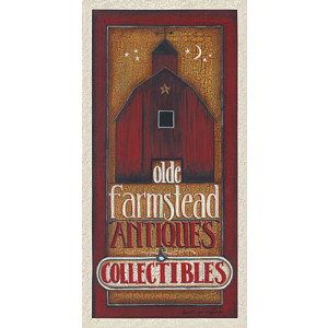 Olde Farmstead Antiques & Collectibles 10 x 20 Print