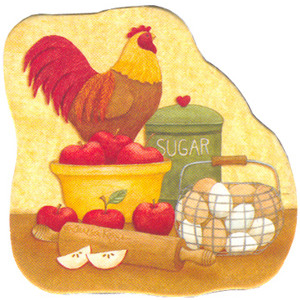 Chicken & Eggs Fridge Magnet