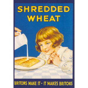 Shredded Wheat Nostalgic Postcard