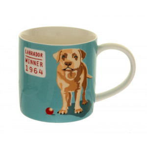 Labrador Design Bone China Tea Coffee Mug Cup