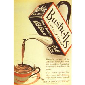 Bushells Blue Label Tea Nostalgic Postcard