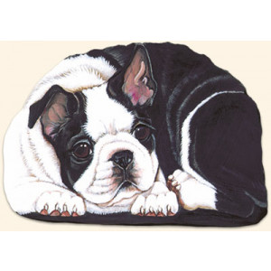 Boston Terrier Dog Paperweight
