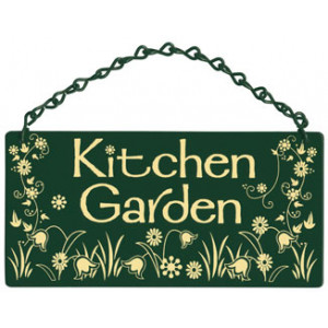Kitchen Garden Home & Garden Sign