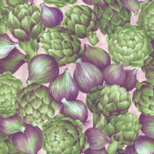 Artichokes & Onions Quilt Fabric