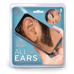 All Ears Mens Mobile iPhone Cover Fits 4G 4S