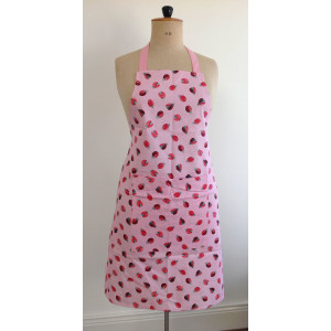 Kitchen Apron 100% Cotton Lovely Ladybirds By Alex Clark