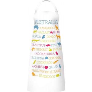 Kitchen Apron 100% Cotton Australian Wildlife