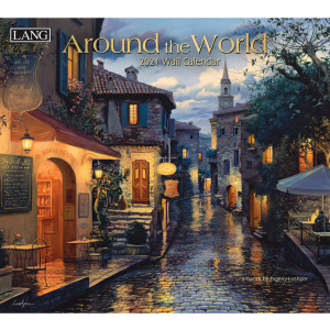 Around The World Evgeny Lushpin 2021 Lang Wall Calendar