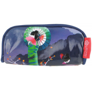 PVC Cosmetic Makeup Accessories Case Japanese Geisha Girl