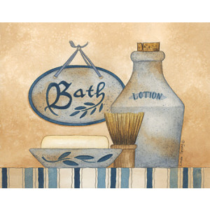 Bath Lotion Soap 8 x 10 Print