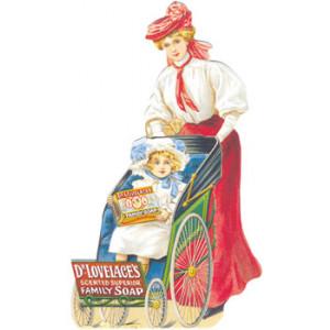Dr Lovelaces Family Soap Postcard