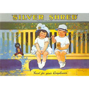 Silver Shred Marmalade Nostalgic Postcard