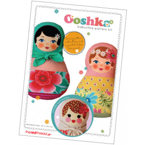 Ooshka Babushka Sewing Pattern Kit
