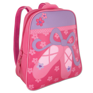 Ballet Shoes Slippers Kids Backpack by Stephen Joseph