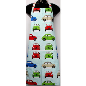 Colourful Bambina Cars Cotton Kitchen Apron