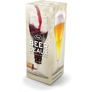 Beer Deaux The Long Neck Wine Beer Glass Genuine Fred