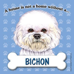 Bichon Fridge Magnet