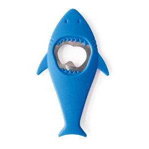 Shark Shaped Silicone Bottle Opener Bite Me