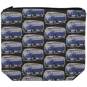 Designer Unisex Purse VW Volkswagen Kombi Camper Van Blue