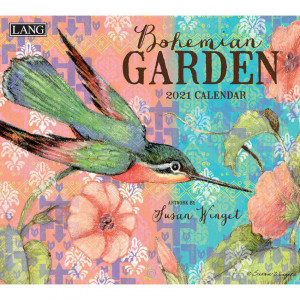 Bohemian Garden Susan Winget 2021 Lang Wall Calendar