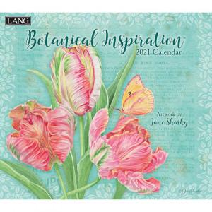 Botanical Inspiration Jane Shasky 2021 Lang Wall Calendar