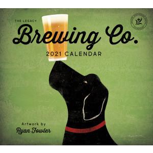 Brewing Company 2021 Legacy Wall Calendar by Ryan Fowler