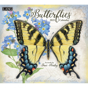 Butterflies by Jane Shasky 2021 Lang Wall Calendar