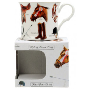Horses Fine Bone China Palace Tea Coffee Mug Cup
