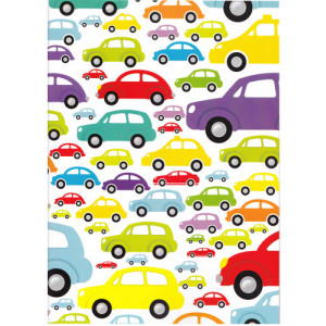 Cars A4 Size Notebook