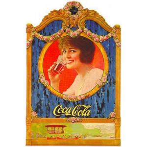 Coca Cola Nostalgic Postcard