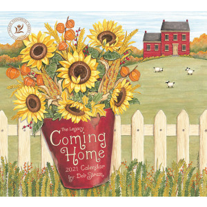 Coming Home by Deb Strain 2021 Legacy Wall Calendar