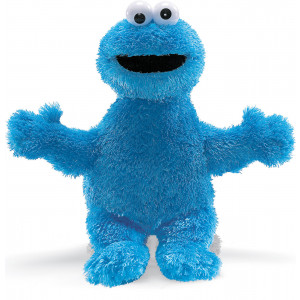 Sesame Street Cookie Monster 25cm Soft Toy