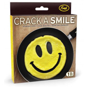 Crack a Smile Shaped Scrambled Eggs Pancakes Breakfast Mould