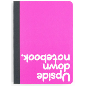Upside Down Notebook Journal