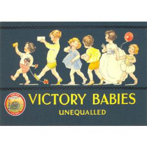 Victory Jelly Babies Nostalgic Postcard