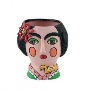 Baby Frida Small Resin Indoor Pot Planter