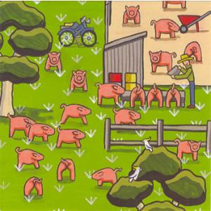 The Pig Farm Rachael Flynn Card
