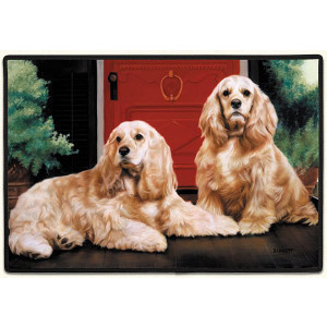 doormat-cocker-spaniel