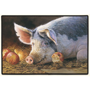 doormat-pig-apples