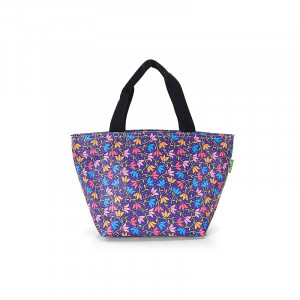 Colourful Flowers Insulated Foldable Lunch Bag