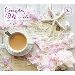 Everyday Miracles Claire Brocato 2021 Legacy Wall Calendar With Scripture
