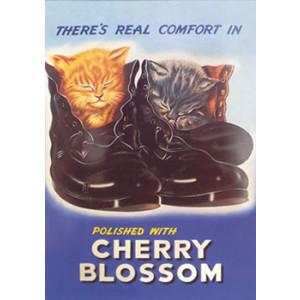 Cherry Blossom Nostalgic Postcard