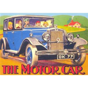 The Motor Car Nostalgic Postcard