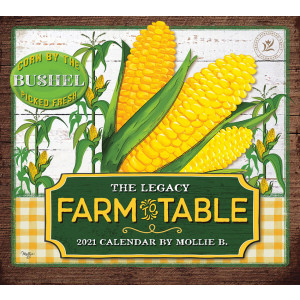 Farm to Table by Mollie B 2021 Legacy Wall Calendar